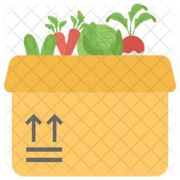 Vegetables Packing Icon