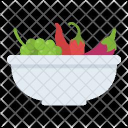 Vegetables Salad Icon