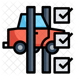 Vehicle diagnosis Icon
