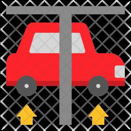 Vehicle Suspension Check Icon