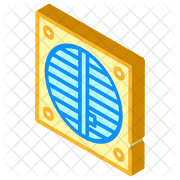 Ventilator Fun Icon