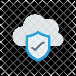 Verified Cloud Icon