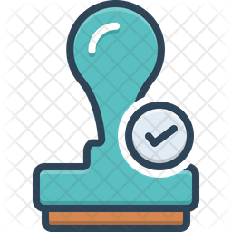 Verified Stamp Icon