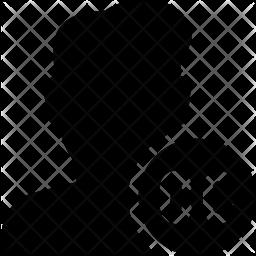 Verified User Glyph Icon