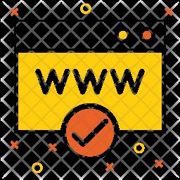 Verified Webpage Icon