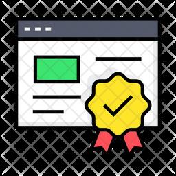 Verified Website Icon