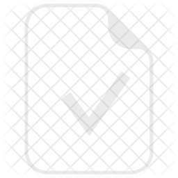Verify, Approve, Data, Document, Paper, Right Icon png