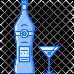 Vermouth wine Icon