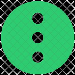 Vertical menu Icon