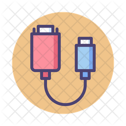 Vga To Usb Adapter Icon