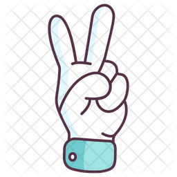 Victory Gesture Icon