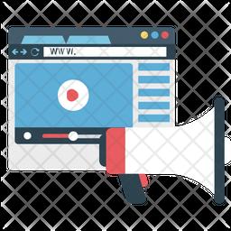 Video Blog Icon