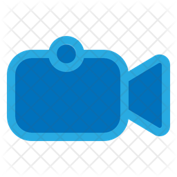 Video Camera Colored Outline Icon