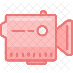 Video Icon Of Colored Outline Style Available In Svg Png Eps Ai Icon Fonts