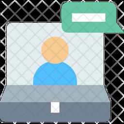 Video Communication Icon