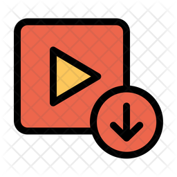 Video Download Icon