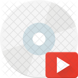 Video file in cd Icon