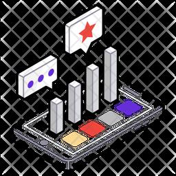 Video marketing Isometric  Logo Icon