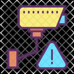 Video Monitoring Alert Icon