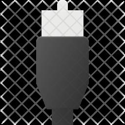 Video port Flat Icon