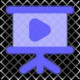 Video-presentation Icon