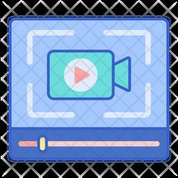 Video Screen Capture Icon
