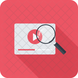 Video, Search, Seo, Business, Startup, Marketing, Optimization Icon