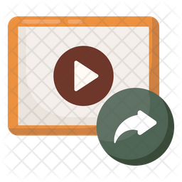 Video Share Icon