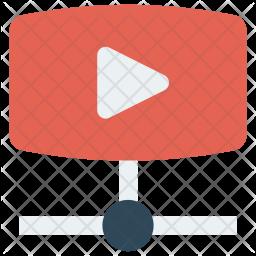 Video sharing Icon