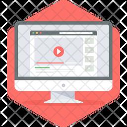 Video Site Ui Icon