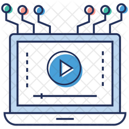 Video Streaming Network Icon