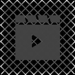 Videos Glyph Icon