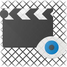 View Clapper Flat Icon