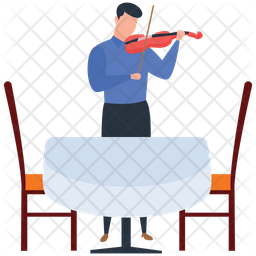Violin Player Icon