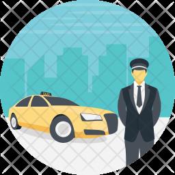 VIP Cab Service Icon