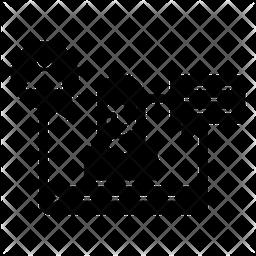 Viral Training Glyph Icon
