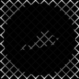 Virginia Glyph Icon