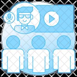 Virtual Classroom Icon