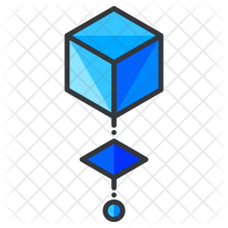 Virtual game Colored Outline Icon