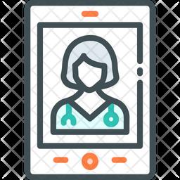 Virtual Nurses Icon