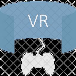 Virtual Reality Gaming Icon