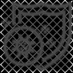 Virus Prevention Line Icon