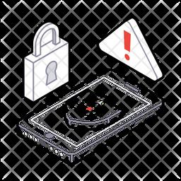 Virus Protection Isometric Icon