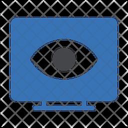 Visible Screen Dualtone Icon