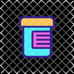 Vitamin Jar Icon