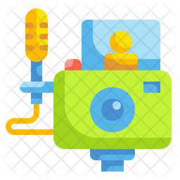 Vlogs Video Icon