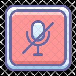 Voice off Icon
