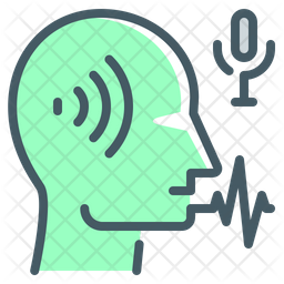 Voice Recognition Technology Icon