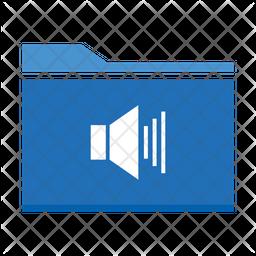 Volume Folder Flat Icon