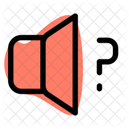 Volume Help Dualtone Icon